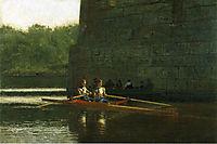 The Oarsmen ( The Schreiber Brothers), 1874, eakins