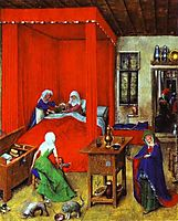 The Birth of John the Baptist, 1422, eyck