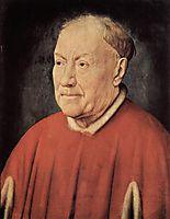 Portrait of Cardinal Albergati , eyck