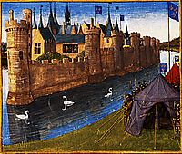 Division of the kingdom of Clotaire, 1460, fouquet