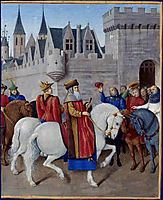 Entry of Emperor Charles IV in Cambrai, 1460, fouquet