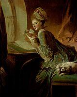 The Love Letter, c.1780, fragonard