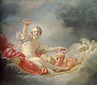 Venus and Cupid (The Day), fragonard