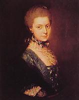 Elizabeth Wrottesley, 1765, gainsborough