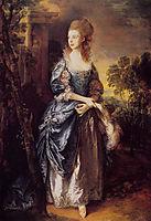 The Hon. Frances Duncombe, c.1777, gainsborough
