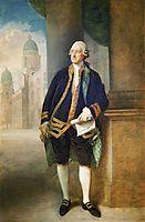 John Montagu,  4th Earl of Sandwich, gainsborough