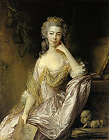 Portrait of Mrs. Drummond, gainsborough