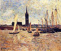 Bordeaux Harbour, 1886, gauguin