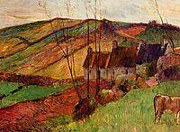 Cottages on Mount Sainte Marguerite, 1888, gauguin