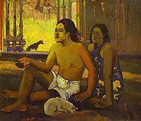 Eiaha Ohipa or Tahitians in a Room, 1896, gauguin