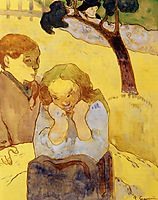 Human misery, 1889, gauguin