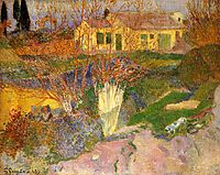 Mas, near Arles, 1888, gauguin