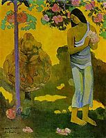 The month of Maria, 1899, gauguin
