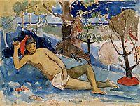 The queen of beauty, c.1896, gauguin