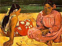 Tahitian Women, 1891, gauguin