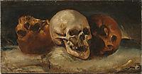 Thethree skulls, 1814, gericault