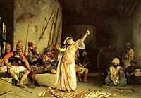 The Dance of the Almeh, 1863, gerome