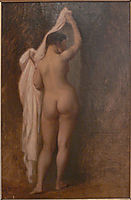 Nude from behind (Study for King Candaule), 1859, gerome