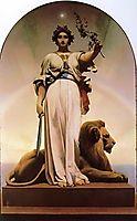 The Republic, 1848, gerome