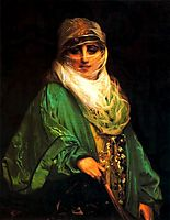 Woman of Constantinople, gerome