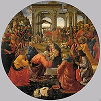The Adoration of the Magi, 1487, ghirlandaio