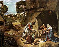 The Adoration of the Shepherds, 1510, giorgione