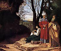 The Three Philosophers, giorgione