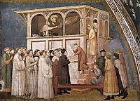 Raising of the Boy in Sessa, c.1320, giotto