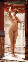A Pompeian Bath, 1890, godward