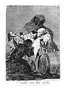 No one has seen us, 1799, goya