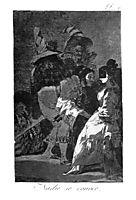Nobody knows anybody, 1799, goya