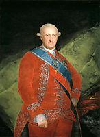 Portrait of Charle IV of Spain, 1789, goya