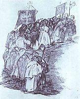 Procession of Monks, goya