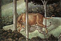 Procession of the Magus Caspar (detail), 1461, gozzoli