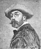 Self-portrait, grasset