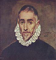 Portrait of an elder nobleman, c.1585, greco