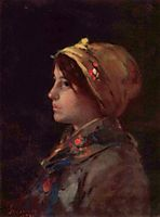 Head of a Young Farmer, grigorescu