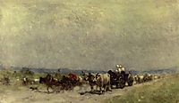 Returning from the fair, grigorescu