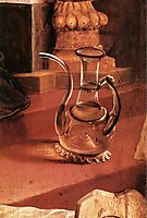 A Glass Jug (detail from the Concert of Angels from the Isenheim Altarpiece), c.1516, grunewald