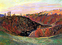 Sunset in Creuse, 1898, guillaumin