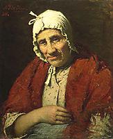 Old Jewish Woman, 1880, haan