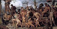 The Triumphal Procession of Bacchus, c.1536, heemskerck