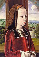 Portrait of Margaret of Austria (Portrait of a Young Princess), c.1491, hey