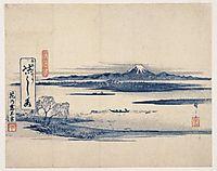 View of Fuji, hiroshige
