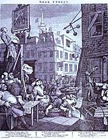 Beer Street , 1751, hogarth