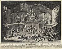 The Lottery, hogarth
