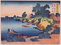 MoonlightovertheSumida RiverinEdo, hokusai