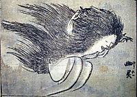 Yurei, hokusai