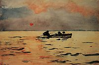 Rowing Home, 1890, homer