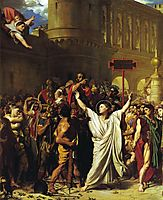 The Martyrdom of St. Symphorian, 1834, ingres